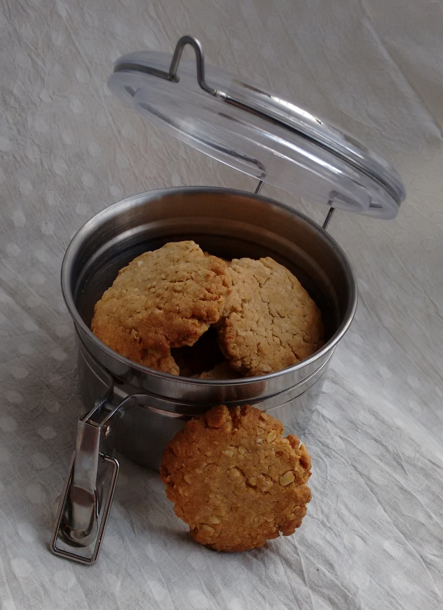 Oat Almond Cookies